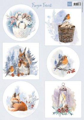 Marianne D Knipvellen Frozen Forest VK9582 A4