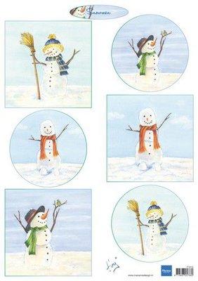 Marianne D Knipvellen Tiny's Snowmen IT613 A4