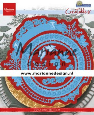 Marianne D Creatable Petra's Winter Cirkel LR0627 144,5x140,5 mm