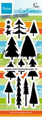 Marianne D Craftable bomen by Marleen CR1483 64mm, 30mm