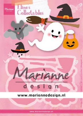 Marianne D Collectable Eline's Halloween COL1473 164x52mm, 55x36mm