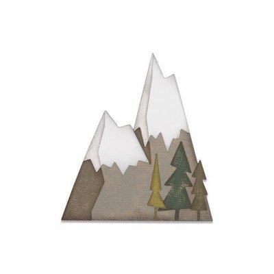 Sizzix Thinlits Die  set -  7PK Alpine 664225 Tim Holtz