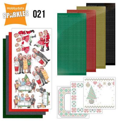 SPDO021 Sparkles Set 21 - Family Christmas