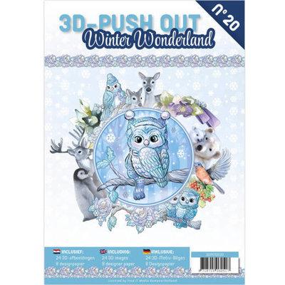 3DPO10020 3D Pushout Book 20 Winter Wonderland