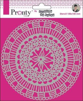 Pronty Mask Mandala Circle  by Jolanda 15x15 470.770.022 by Jolanda