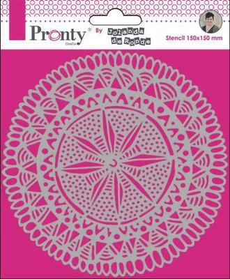 Pronty Mask Mandala Circle Tribal by Jolanda 15x15 470.770.021 by Jolanda