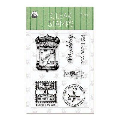 Piatek13 - Clear stamp set Till we meet again 01 P13-TIL-30