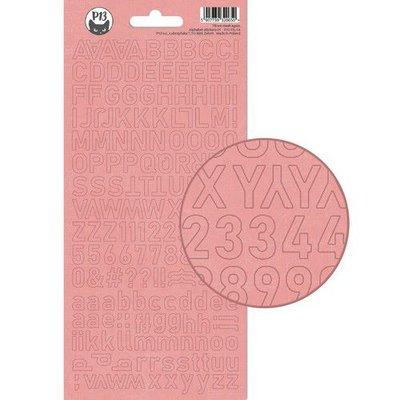 Piatek13 - Alphabet sticker sheet Till we meet again 01 P13-TIL-17 10,5x23cm
