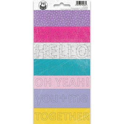 Piatek13 - Sticker sheet Girl Gang Phrase 02 P13-GRL-38 10,5x23 cm
