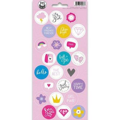 Piatek13 - Sticker sheet Girl Gang 03 P13-GRL-13 10,5x23 cm