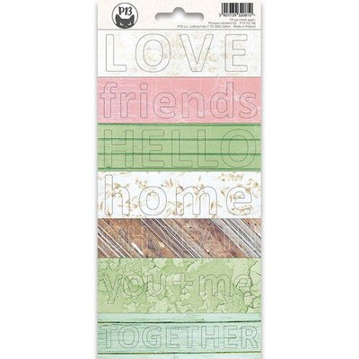 Piatek13 - Sticker sheet Till we meet again Phrase 02 P13-TIL-38 10,5x23 cm