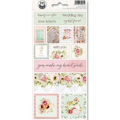 Piatek13 - Sticker sheet Till we meet again 02 P13-TIL-12 10,5x23 cm