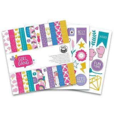 Piatek13 - Paper pad Girl Gang 6x6 P13-GRL-09