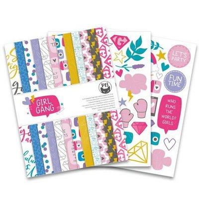 Piatek13 - Paper pad Girl Gang 6x8 P13-GRL-10