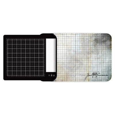 Tonic Studios Tools - Travel Glass media mat (40,0x26,0cm) 2633e Tim Holtz
