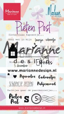 Marianne D Clear Stamps Pietenpost by Marleen (NL) CS1042 105x180 mm
