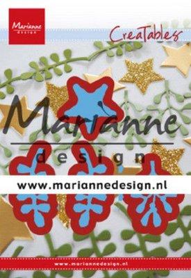 Marianne D Creatable Christmas green LR0634 110x160 mm