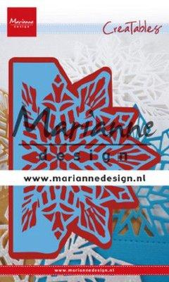 Marianne D Creatable Gate folding die - Kristal groot LR0632 120x200 mm