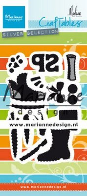 Marianne D Craftable Schoentje zetten by Marleen CR1489 80x180 mm