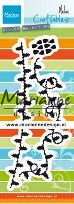 Marianne D Craftable Christmas kerstlampjes by Marleen CR1486 80x220 mm