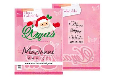 Marianne D Collectable Eline's Santa Xmas (Eng) COL1477  150x210 mm