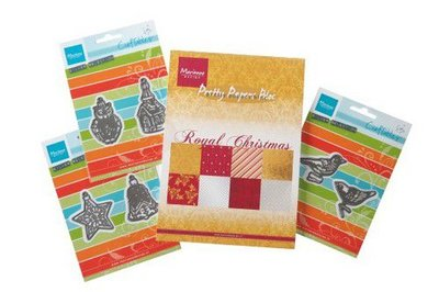 Marianne D Assortiment set Royal Christmas & Craftables PA4100 A5