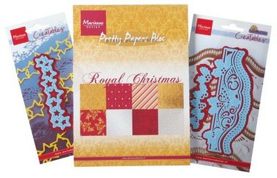 Marianne D Assortiment set Royal Christmas & Creatables PA4099 A5