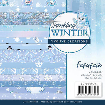 YCPP10029 Paperpack - Yvonne Creations - Sparkling Winter