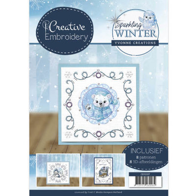 CB10007 Creative Embroidery 7 - Yvonne Creations - Sparkling Winter