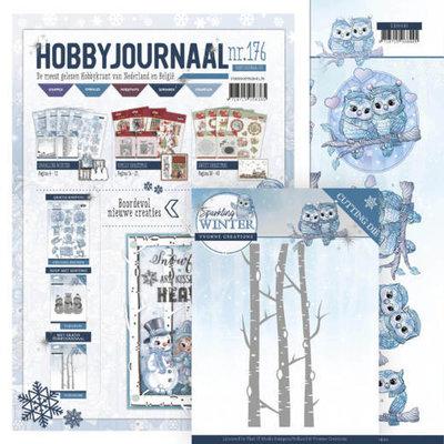 SETHJ176 - YCD10188 Hobbyjournaal 176 -SET- met gratis knipvel en YCD10188