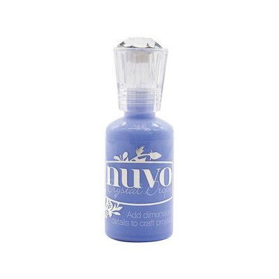 Nuvo crystal drops - berry blue 1807N