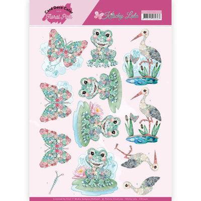 CD11421 3D Knipvel - Yvonne Creations - Kitschy Lala - Kitschy Frog