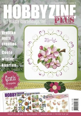 Hobbyzine Plus 9 met gratis goody