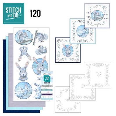 STDO120 Stitch and Do 120 Artic Friends