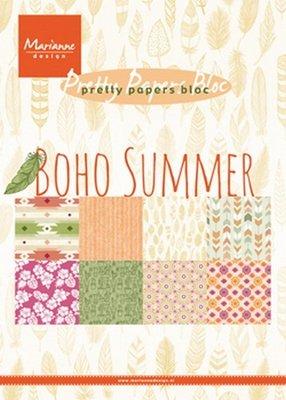 PK9148 Papierpad Marianne Design Boho Summer