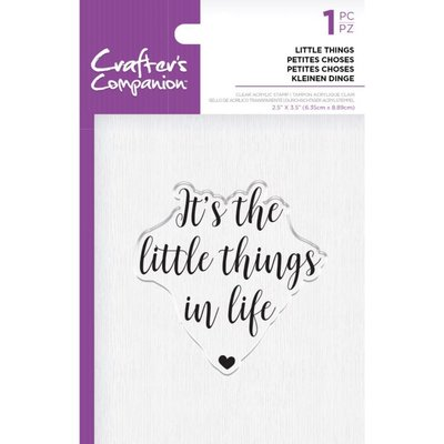 Crafter's Companion Little Things Clear Stamps (CC-ST-CA-LTHIN)