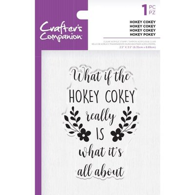 Crafter's Companion Hokey Cokey Clear Stamps (CC-ST-CA-HOKEY)