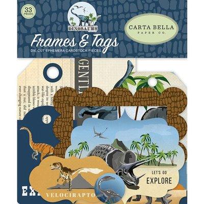 Carta Bella Dinosaurs Frames & Tags (CBDI110025)