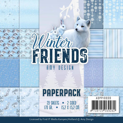 ADPP10030 Paperpack - Amy Design - Winter Friends