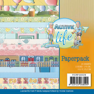 YCPP10028 Paperpack - Yvonne Creations - Active Life