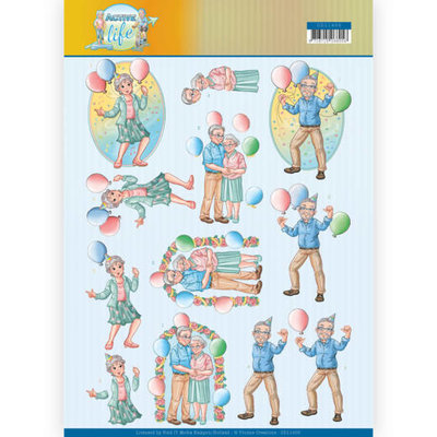 CD11400 3D Knipvel - Yvonne Creations- Party Together
