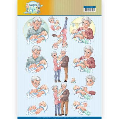 CD11398 3D Knipvel - Yvonne Creations- Grandparents
