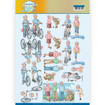 CD11397 3D Knipvel - Yvonne Creations- Active Moving