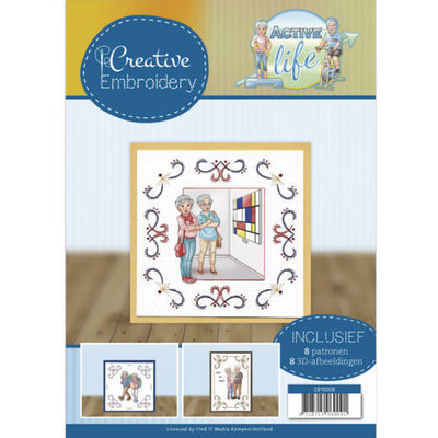 CB10009 Creative Embroidery 9 - Yvonne Creations - Active Life