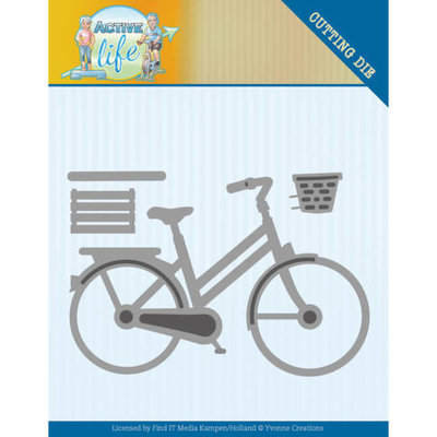 YCD10195 Dies - Yvonne Creations - Active Life - Bicycle