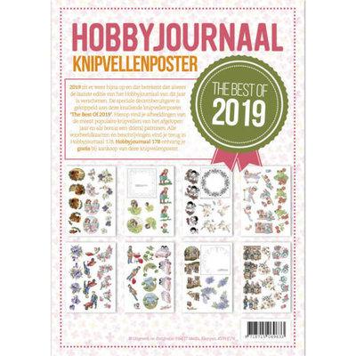 KVPHJ178 Knipvelposter 'the best of 2019'