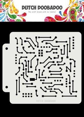 Dutch Doobadoo Dutch Mask Art Motherboard 163x148 470.715.145