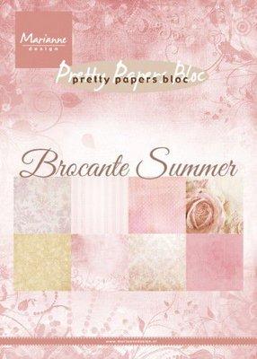 Marianne D Paperpad Brocante summer PK9166 A5