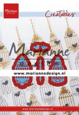 Marianne D Creatable Vogelkooi (set) LR0640 20x40 mm