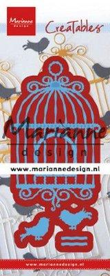 Marianne D Creatable Vogelkooi (L) LR0639 66x108 mm